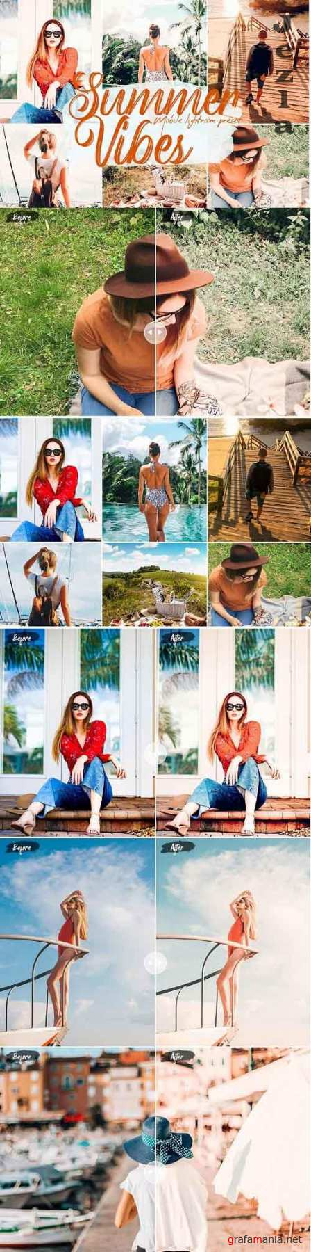 Summer Vibes Lightroom Presets - 5749693