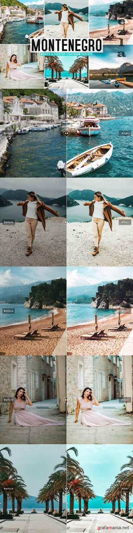Montenegro Pro Lightroom Presets - 5802743 - Mobile & Desktop
