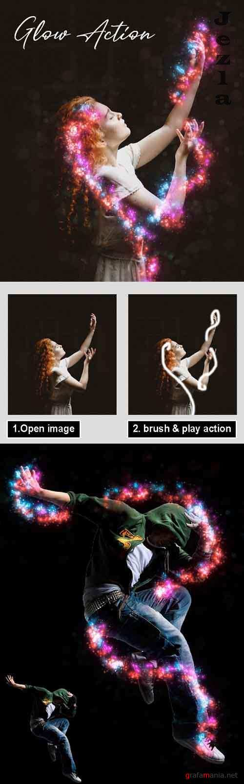 GraphicRiver - Glow Photoshop Action Vol 2 29783116