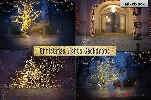 Christmas Lights Backdrops - 5814976