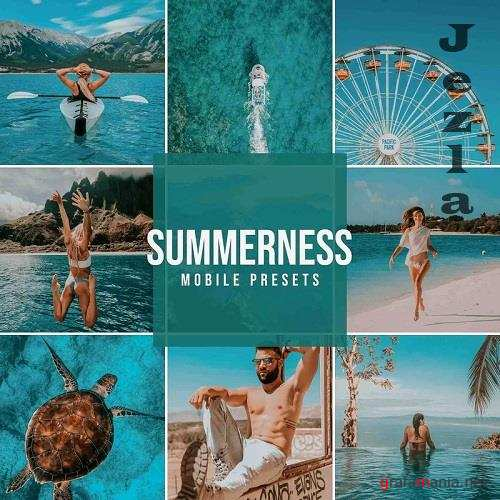 Summerness Mobile Lightroom Presets - 5712586