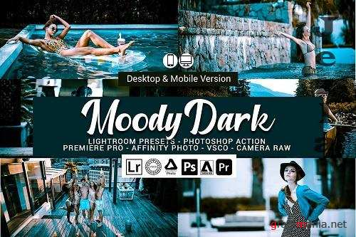 Moody Dark Lightroom Presets - 5157328