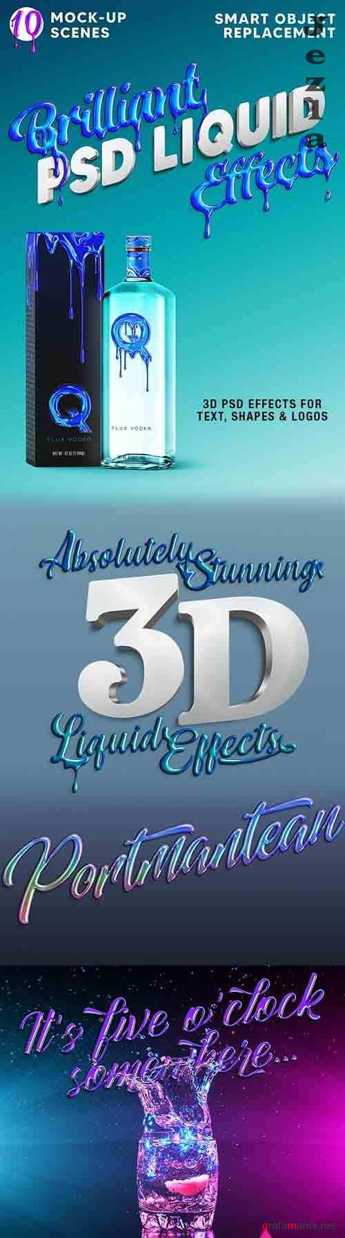 GraphicRiver - Brilliant 3D Liquid Effects 29944215