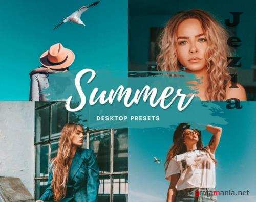 CreativeMarket - Summer Vibe Desktop Lightroom Preset 5712589
