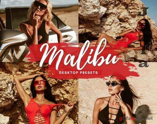 CreativeMarket - Malibu Desktop Lightroom Presets 5712597
