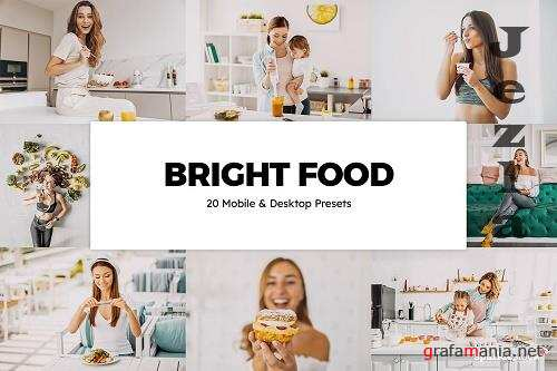 20 Bright Food Lightroom Presets - 5827601