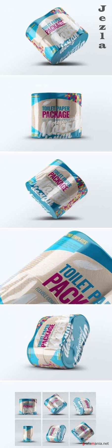 Toilet Paper Package Mock-Up