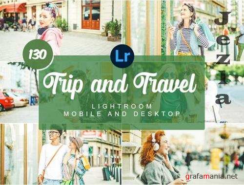 Trip and Travel Mobile and Desktop Presets