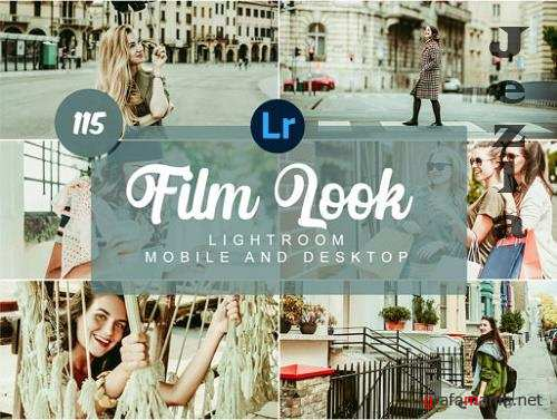 Film Look Mobile and Desktop Presets