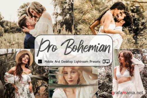 Pro Bohemian Mobile and Desktop Lightroom Presets