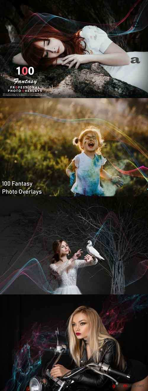 100 Fantasy Photo Overlays - 992793