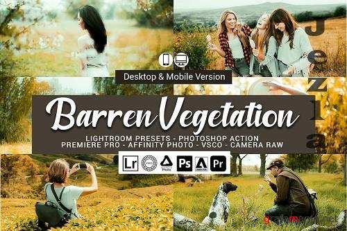 Barren Vegetation Lightroom Presets - 5155767