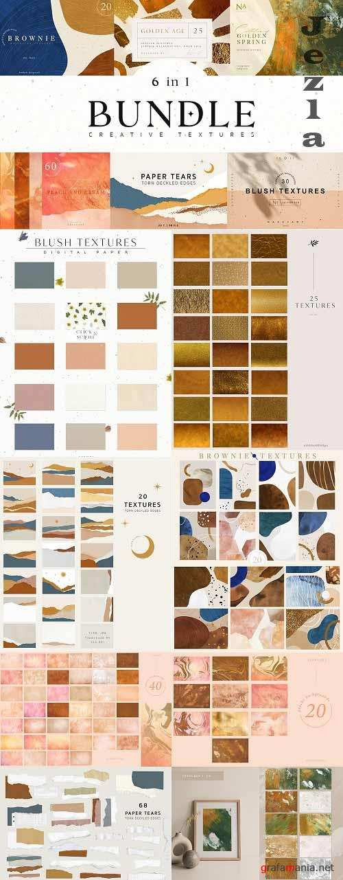 Creative Paper Textures Bundle - 5675894