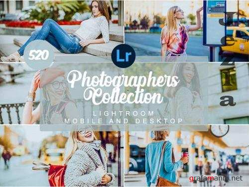 Photographers Collection Mobile and Desktop Presets