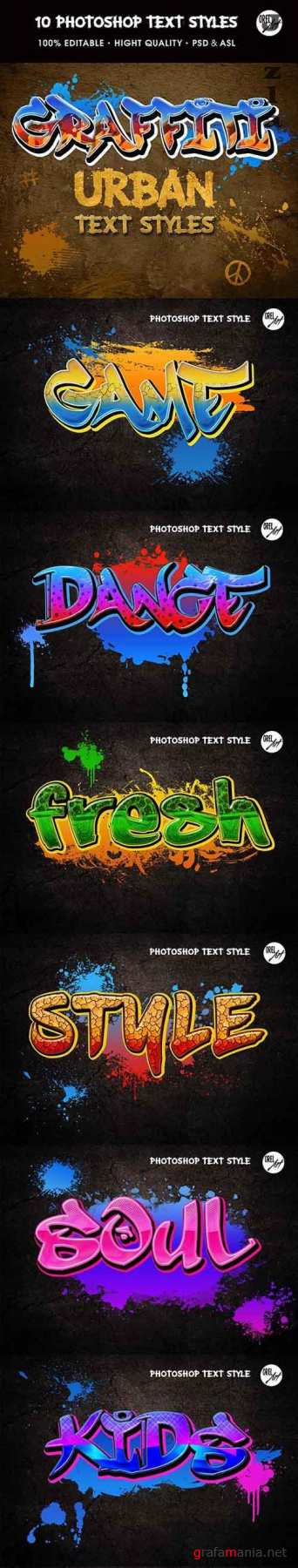 GraphicRiver - Graffiti Text Styles 30361952