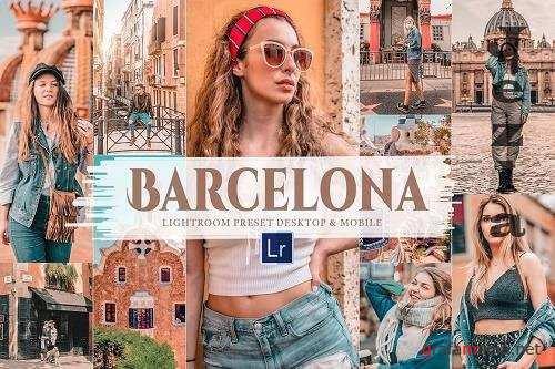 10 Barcelona Mobile & Lightroom Tone - 5906747