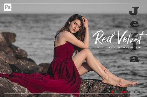 10 Red Velvet Ps Action, ACR, LUT - 5892941