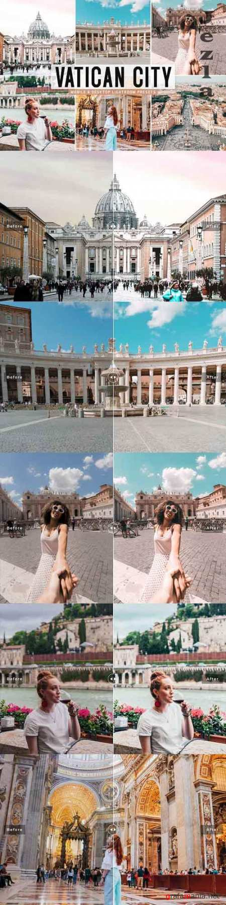 Vatican City Pro Lightroom Presets - 5918608