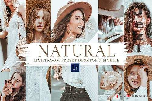 10 Natural Mobile & Lightroom Preset - 5920290