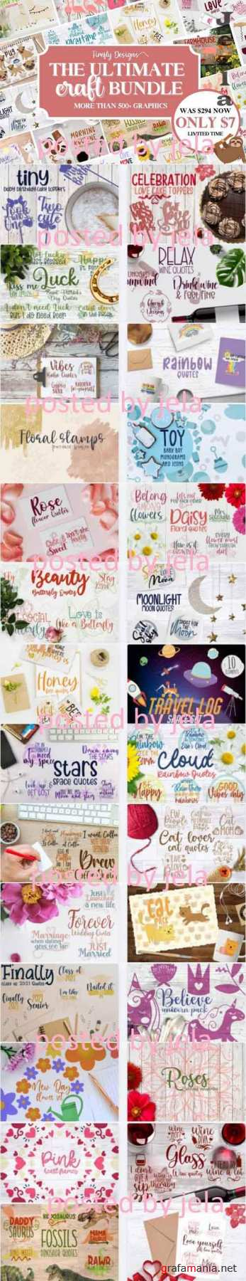 The Ultimate Craft Bundle - 101 Premium Graphics