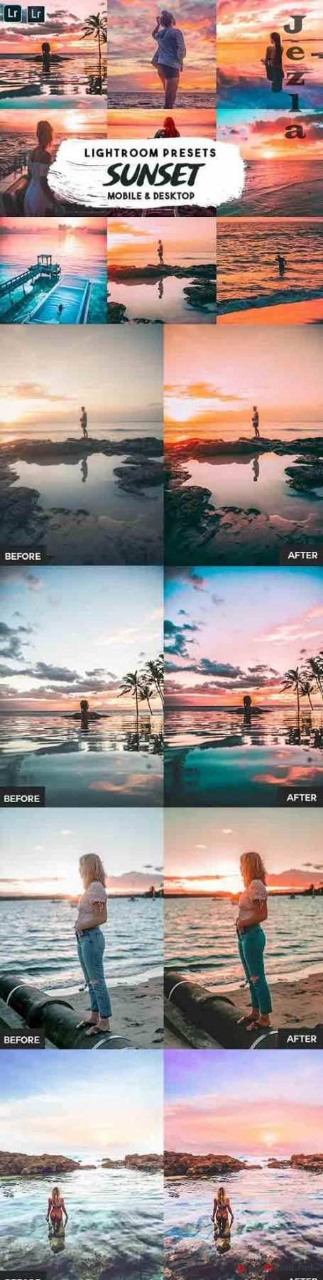 Sunset Lightroom Presets - 30246908