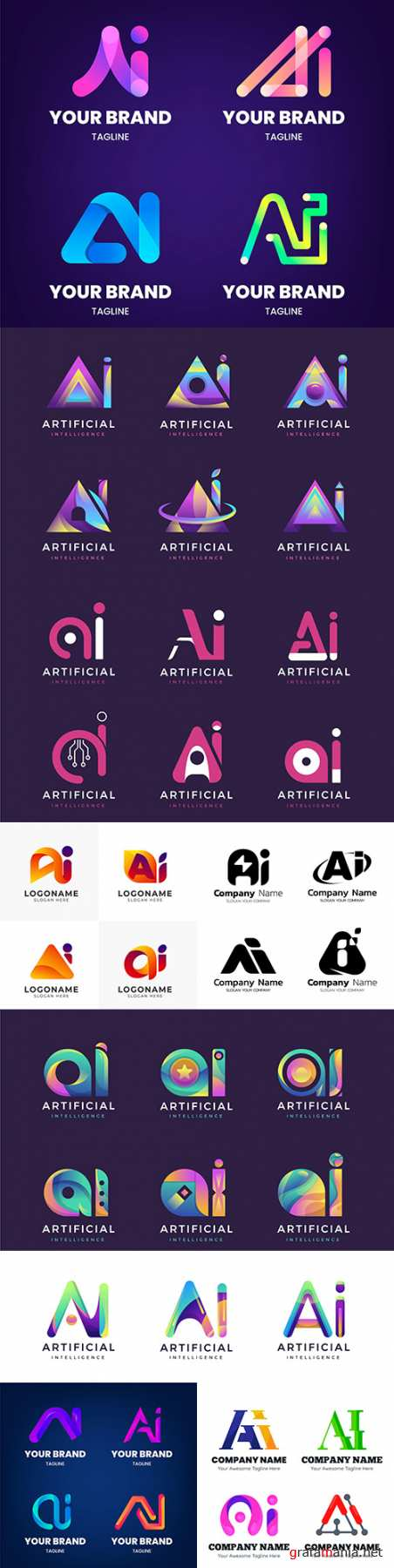 Brand name company business corporate logos design 23