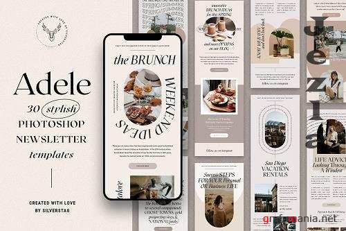Adele - Stylish Newsletter Templates - 6034593