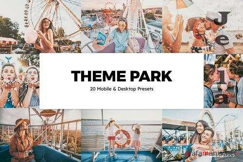 20 Theme Park Lightroom Presets LUTs - 6086209