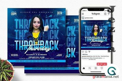Night Club Party Flyer Template - 6333415