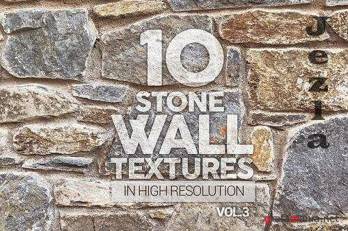 Stone Wall Textures x10 Vol.3 - 6339330