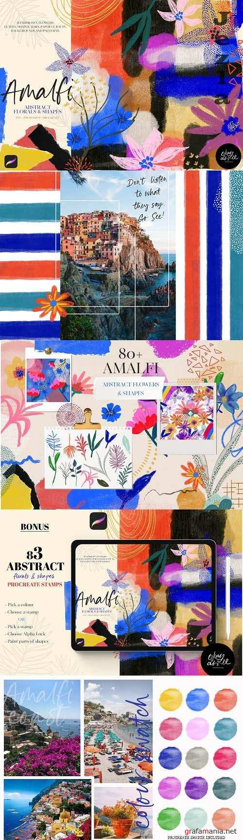 Amalfi: Abstract Floral & Shapes - 6114865