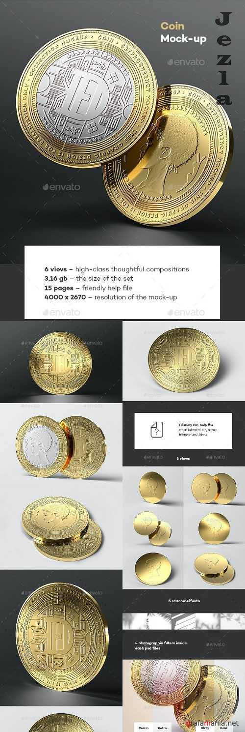 Coin Mock-up - 33821258