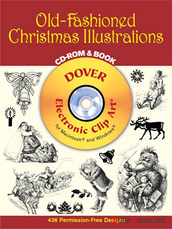 Dover - Old-Fashioned Christmas Illustrations