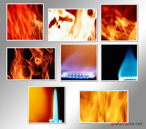 HQ IMAGES - FIRE TEXTURE 2