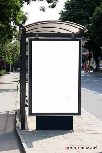 Shelters Billboard Picture Blank Template Material