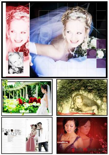 Wedding PSD Templates
