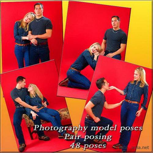 Photography model poses / Pair Set
