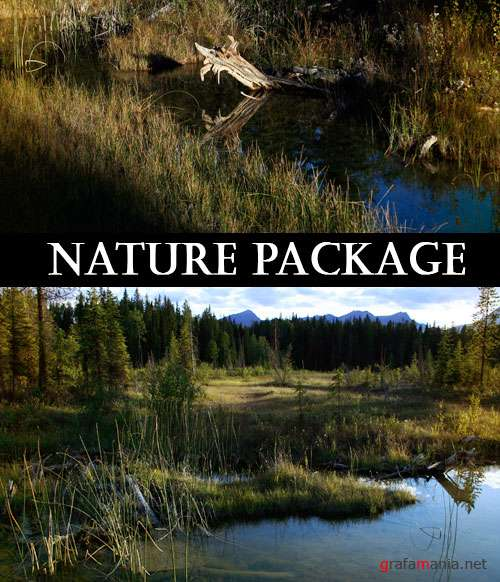 Фотоклипарт - Nature Package