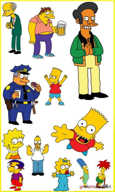 The Simpsons Vector Collection