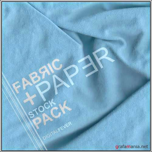 Fabric paper stock pack