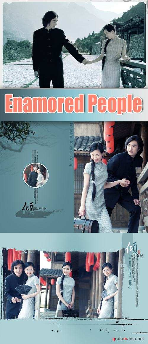 PSD Templates - Enamored People