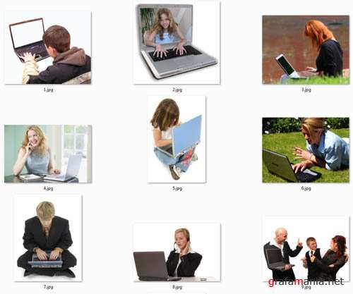 People with Laptop