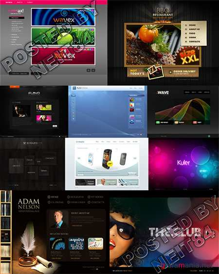 10 Flash Template Website K26 P5
