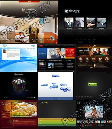 11 Flash Template Website K27 END PACK