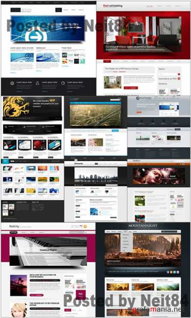 Templates Website Dynamic CSS in March P3