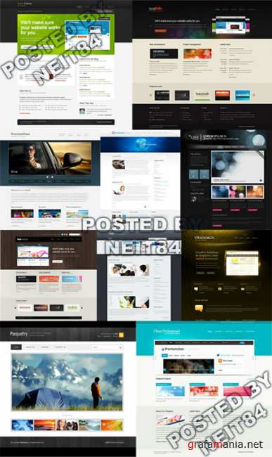 Templates Website Dynamic CSS in April P5