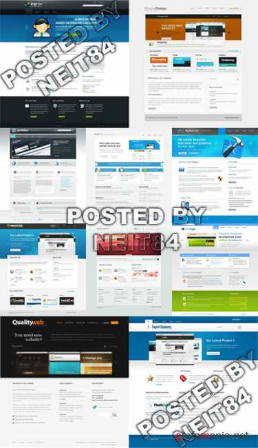 Templates Website Dynamic XHTML in April P10