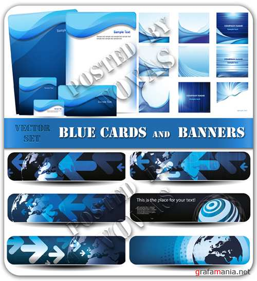Blue Cards and Banners