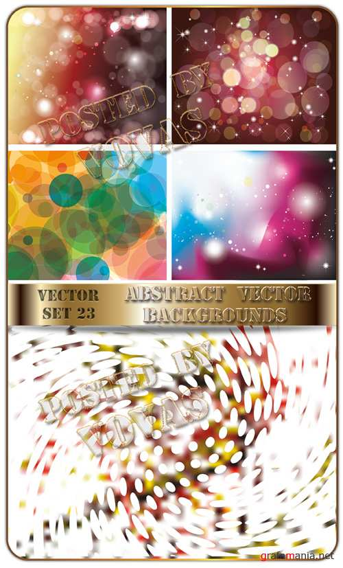 Abstract Vector Backgrounds 23