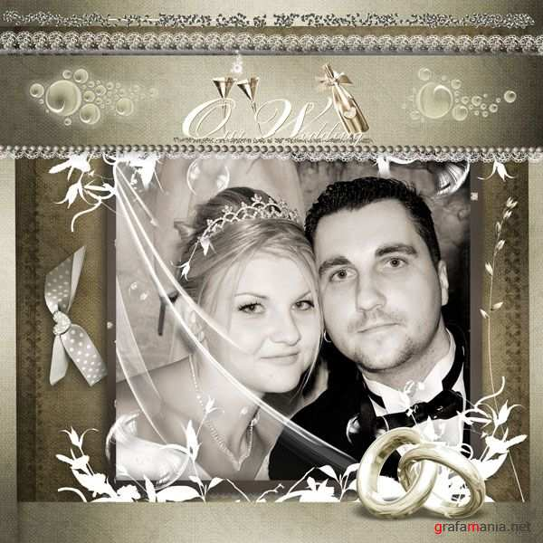 Скрап-набор Cherished wedding